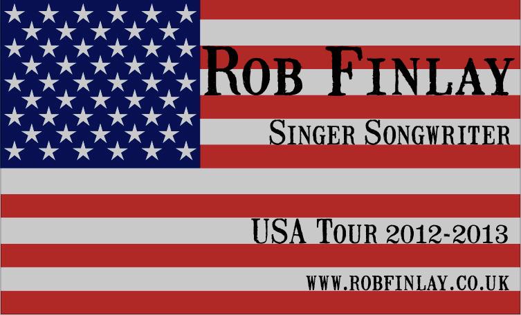 Rob Finlay USA Tour