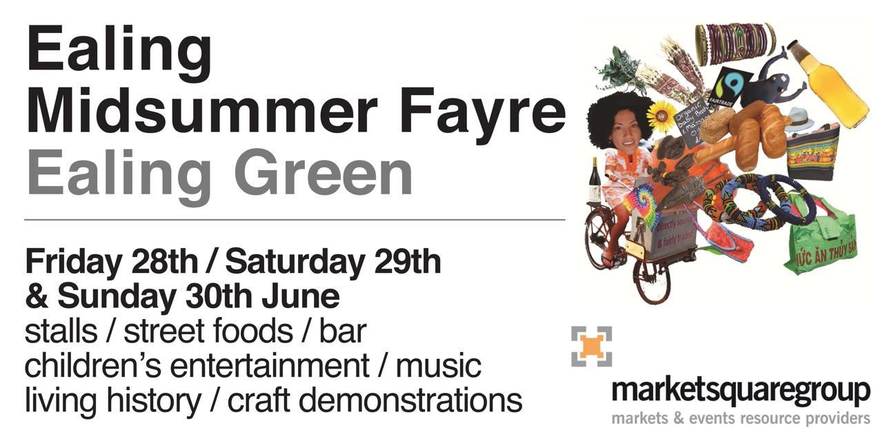 Ealing Midsummer Fair Poster