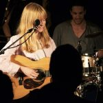 Lucy Rose on stage