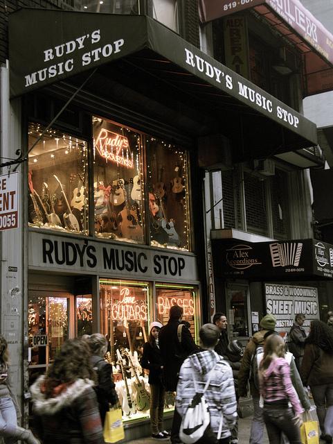 Rudy's Guitar Shop