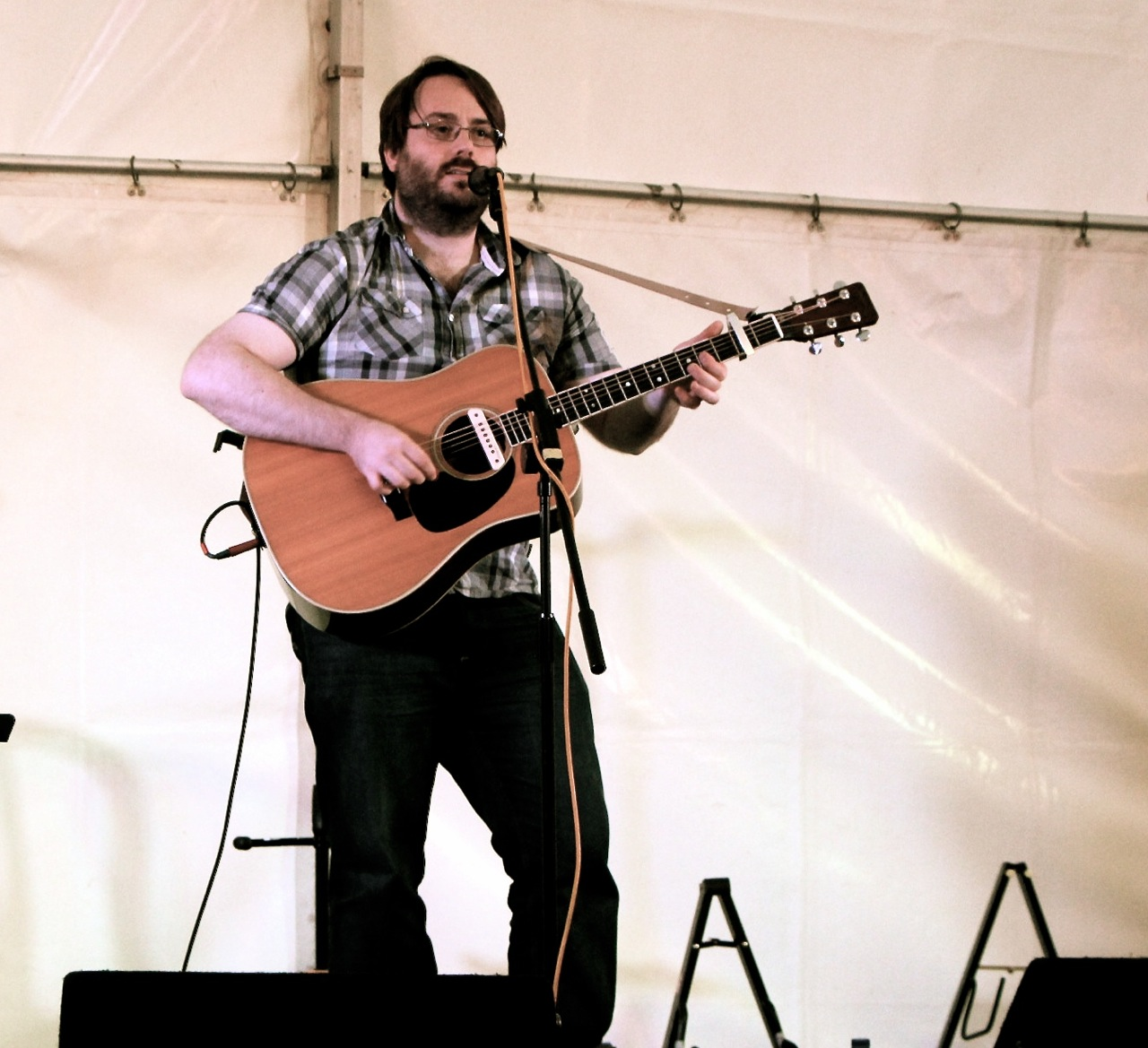 Rob finlay live at Woodfest 2014