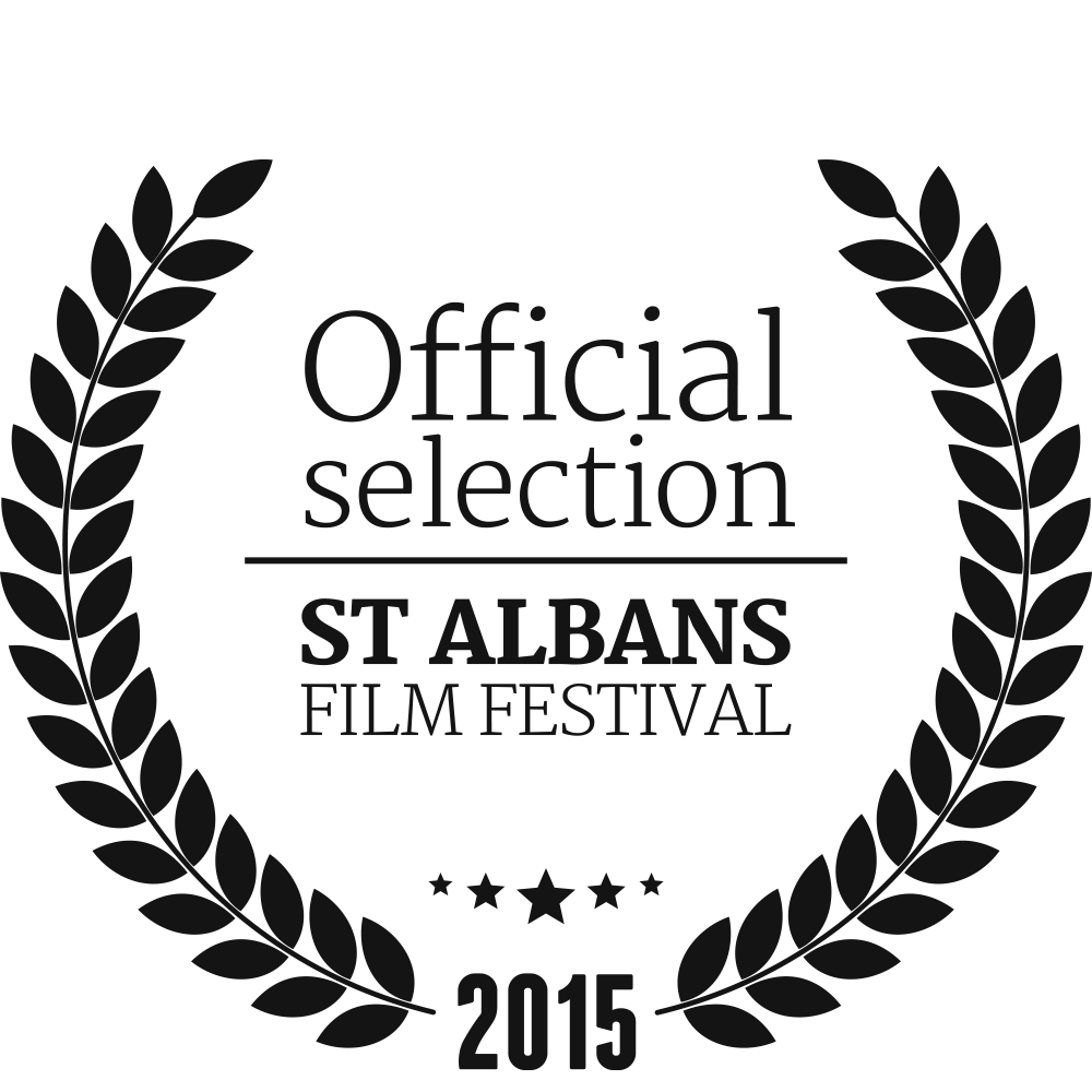 St Albans Film Festival Official Selection wreath