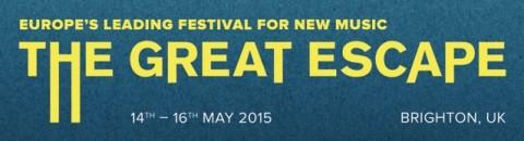 The Great Escape Festival 2015 logo