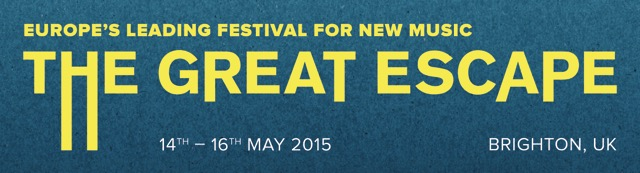 The Great Escape Festival 2015 logo