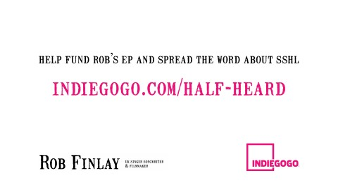 Indiegogo crowdfunding campaign video title card