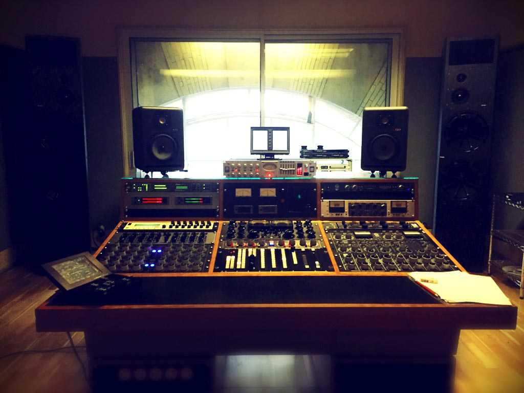 Mastering room 1 at Metropolis
