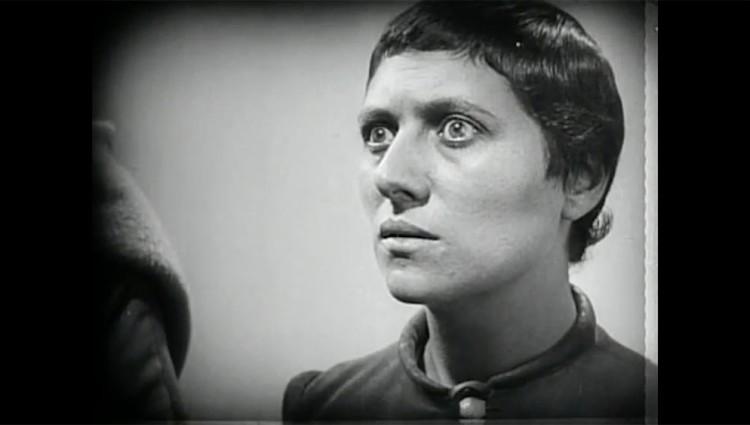 Renée Jeanne Falconetti as Joan of Arc