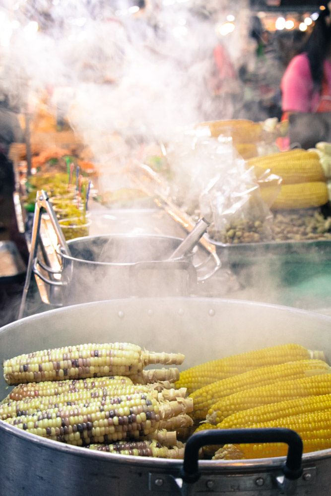 Rob Finlay Thailand sweetcorn and steam
